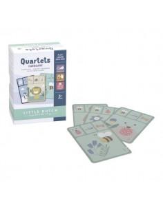 Gra w karty kwartetu zwierzęta +3 lata, Little Dutch