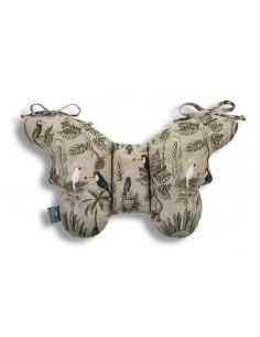 Poduszka Antywstrząsowa Motylek Jungle Khaki, Sleepee