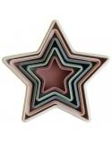 Piramidka sensoryczna NESTING STAR +6 m-cy, Mushie