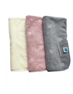 Ręcznik bawełniany Dusty Pink 85x85 cm, Pink No More