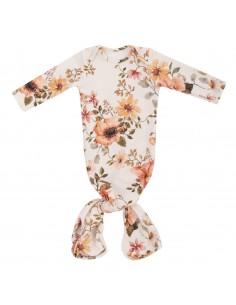 Bambusowa piżamka z opaską Vintage Bloom, Samiboo
