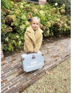 Walizka dziecięca Mini Traveller Szara, Childhome