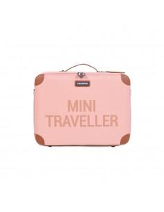 Walizka dziecięca Mini Traveller Różowa, Childhome