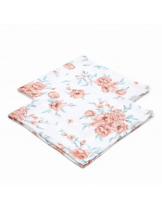 Pieluszki muślinowe 2-pak Bloom Revival 73x73 cm, Qbana Mama