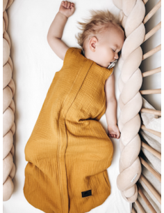 Dwustronny Śpiworek Muślinowy Summer Sunflower (4-24 miesiące), Sleepee