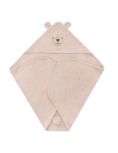 Ręcznik Bambusowy Miś Piaskowy 80x80cm, Samiboo