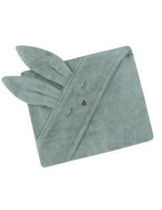 Ręcznik Bambusowy Króliczek Szałwia 80x80cm
