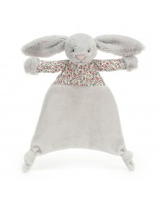 Dou Dou przytulanka króliczek Blossom Szary, Jellycat