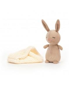 Śpiący króliczek 18cm, Jellycat