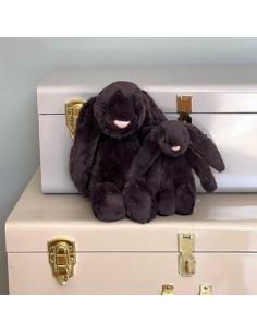 Króliczek czarny 18cm, Jellycat