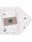 Prześcieradło 60x120cm do łóżeczka Gwiazdy