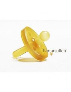 Natursutten Smoczek okrągły z naturalnego kauczuku/ tarcza okrągła