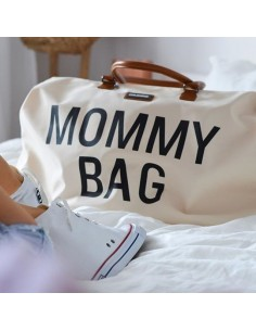 Torba podróżna Mommy Bag Kremowa