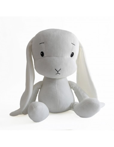 Królik Effik M BIAŁY - białe uszy, 35 cm