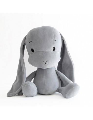Królik Effik M SZARY - szare uszy, 35 cm