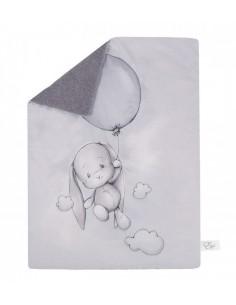 Koc ocieplany Effik z balonem 70x100cm