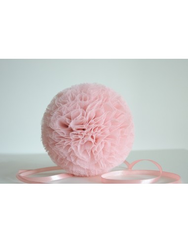 Pompon Perłowy Róż